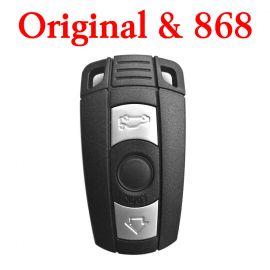 Genuine 868 MHz remote for BMW CAS3 E series