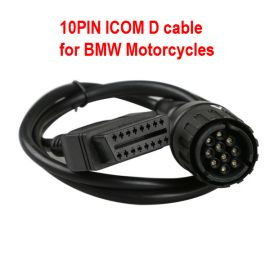 10PIN ICOM D Cable ICOM-D Motorcycles Motobikes Diagnostic Cable for BMW
