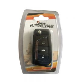 XN008 XHORSE Toyota Type Wireless Universal Remote Key 3 Buttons (Individually Packaged) for VVDI Key Tool 5Pcs