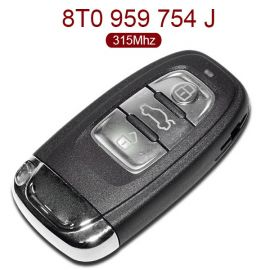 3 Buttons 315 MHz Smart Key for Audi A4L Q5 - 8T0 959 754J - with OEM PCB