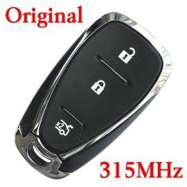 Original 3 Buttons 315 MHz Virgin Smart Proximity Key for 2016-2019 Chevrolet  Spark Sonic