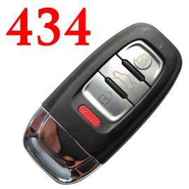 3+1 Buttons 434 MHz Remote Key for Audi Q5 A4L - 8K0 959 754C