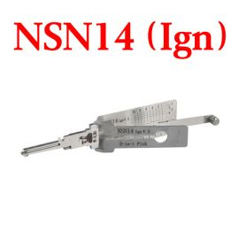 Original LISHI NSN14 Ign Auto Pick and Decoder for Nissan