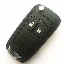 2 Buttons 434 MHz Flip Remote Key for Opel - PCF7937E ID46