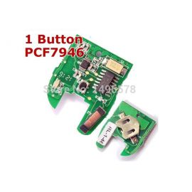 1 Buttons PCB Board for Renault with PCF7946AT chip