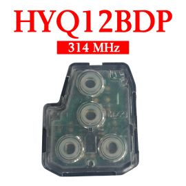 3+1 Buttons 314 MHz Remote Interior Set for Toyota - HYQ12BDP