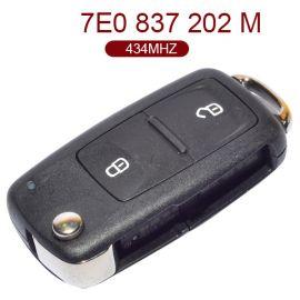 AK001059 for VW Remote Key 2 Button 434MHz 7E0 837 202 M