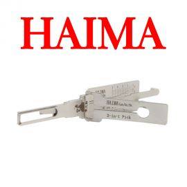 Original LISHI HAIMA 2 in 1 Auto Pick and Decoder for HAIMA