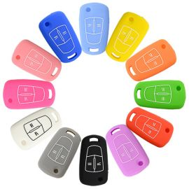 Silicone Cover for 2 Buttons Opel Car Keys - 5 Pieces