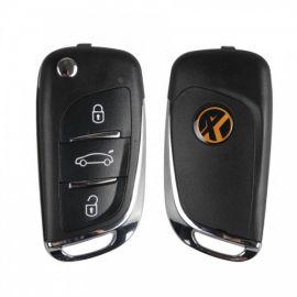 XN002 XHORSE DS Type Wireless Universal Remote Key 3 Buttons for VVDI Key Tool 5pcs