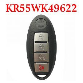 (315MHz) KR55WK49622/ KR55WK48903 3+1 Buttons Smart Proximity Key for Nissan / Inifiniti