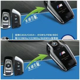315 MHz BMW Remote Key with LCD Touch Screen for CAS4 CAS4+ ESW5 FEM BDC