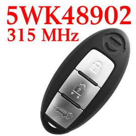 3 Button 315 MHz Smart Proximity Key for Nissan Skyline - PCF7952A - 5WK48902