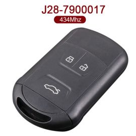 AK039002 for Chery Tiggo Arrizo Smart Remote Key 3 Button 433MHz J28-7900017