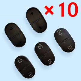 2 Buttons Rubber Pad for Audi -  Pack of 10