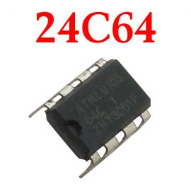 Original Car Storage Chip 24C64 Chip Automotive Instrument 10 pcs