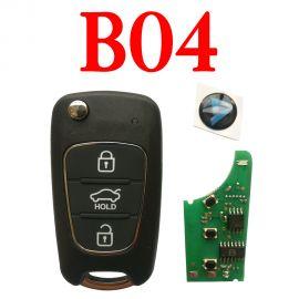 KEYDIY B04 KD Remote control - 5 pcs