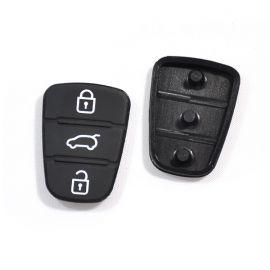 3 button Remote Keys Rubber Button Pad for Hyundai I30 10 pcs