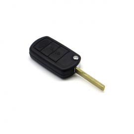 3 Button Filp Remote Key Shell with HU92 Blade for Land Rover 5 pcs / lot