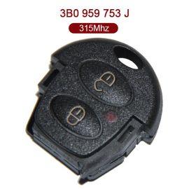 AK001029 for VW Remote Key 2 Button 315MHz ID48 3B0 959 753 J