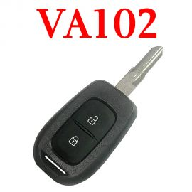 434 MHz 2 Buttons Remote Key for Renault - with 4A chip PCF7961M - VAC102