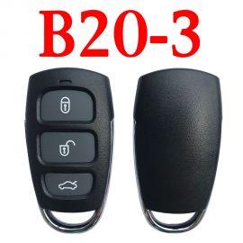 KEYDIY B20-3 KD Universal Remote KIA Hyundai Azera Type - 5 pcs