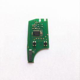 Opel Astra H Zafira B Flip Remote Key PCB 2 Buttons 433MHz PCF7941 Transponder