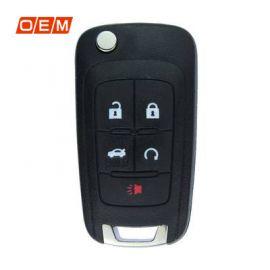 5 Button Genuine Flip Remote Key 2010 2018 315MHz 5912548 for GMC Terrain