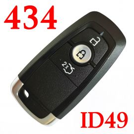 3 Buttons 433 MHz Flip Remote Key for 2017 Ford - ID49