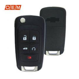 5 Button Genuine Flip Remote Shell for Chevrolet Camaro (5pcs)