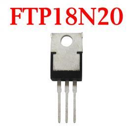 Original  FTP18N20 Car Storage Chip - 10 pcs