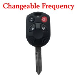 Ford Mustang Remote Key -  3+1 Buttons 315 434 MHz Changeable Frequency