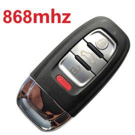 3+1 Buttons 868 MHz Remote Key For Audi Q5 A4L - 8K0 959 754C