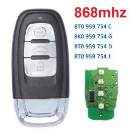 868 MHz Remote Key for AUDI Q5 A4L - 754C