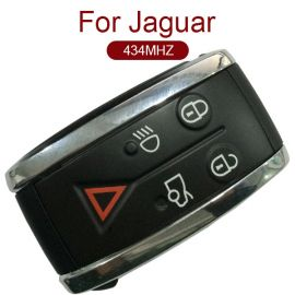 4+1 Buttons 434 MHz Smart Remote Key Fob for JAGUAR XF XFR XK XKR 2009-2013
