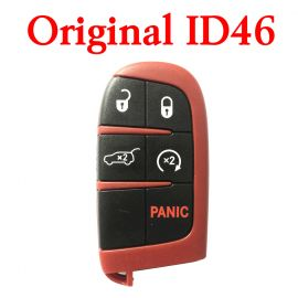 Original 5 Buttons 434 MHz Smart Proximity Key for 2014~2019 Jeep Grand Cherokee  Trackhawk - ID46 PCF7953