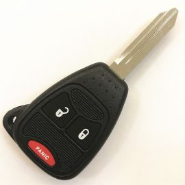 (315MHz) M3N5WY72XX 2+1 Buttons Remote Head Key for Dodge / Chrysler 2004-2007