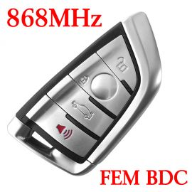 868 MHz Smart Proximity Key for 2014~2018 BMW X5 X6 - FEM BDC EWS5 System