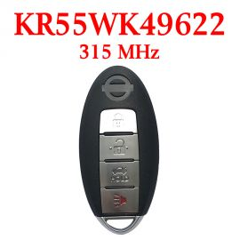 (315MHz) KR55WK49622 3+1 Buttons Smart Proximity Key for Nissan Murano 2009-2014