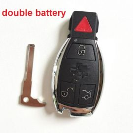 3+1 Buttons 315 MHz  NEC Smart Key For Mercedes Benz C E S Class (2 Batteries) - With Double Batteries