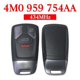 Original 3+1 Buttons 434 MHz Smart Proximity Key for Audi Q7 - 4M0 959 754AA