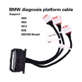 BMW diagnosis platform cable Support: N20/N55/M13/B38/MSV90 model