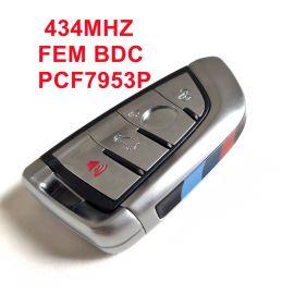 434 MHz F15 Smart Proximity Key for BMW CAS4 CAS4+ EWS5 FEM BDC System  - PCF7953