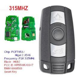 Keyless-Go Smart Remote Car Key 3B 315mhz PCF7952 Chip for BMW CAS 3/5 Series X5