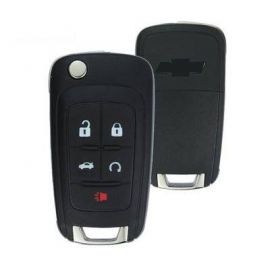 5 Button Flip Remote Shell for Chevrolet Camaro (5pcs)