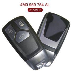 315 MHz Remote Key for Audi Q7 - 4M0 959 754AL