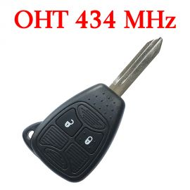 (433MHz) OHT692427AA 2 Button  Remote Key with ID46 Chip for Chrysler Dodge Jeep