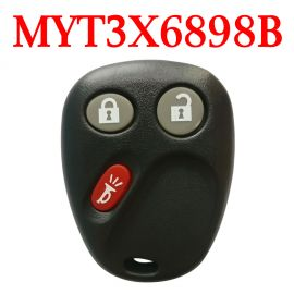 2+1 Buttons 315 MHz Remote Control for Chevrolet GMC Buick - MYT3X6898B