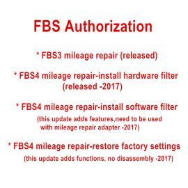 CG MB FBS4 Mileage Correct Authorization
