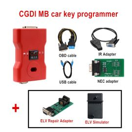 (Europe/UK/US ship, No Tax) CG MB CGDI Prog MB Benz Car Key Add Fastest Benz Key Programmer Support All Key Lost